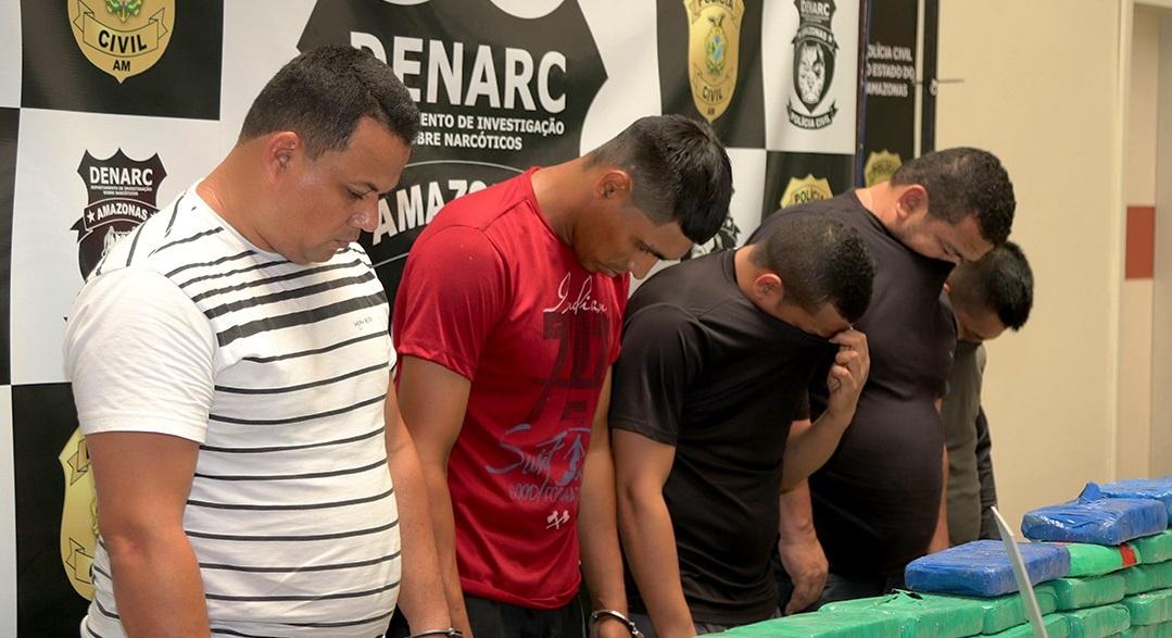 Polícia Civil prende bando com 400 kg de drogas avaliados em R$ 4 milhões